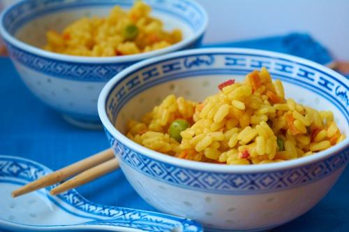 Різотто з овочами та морепродуктами