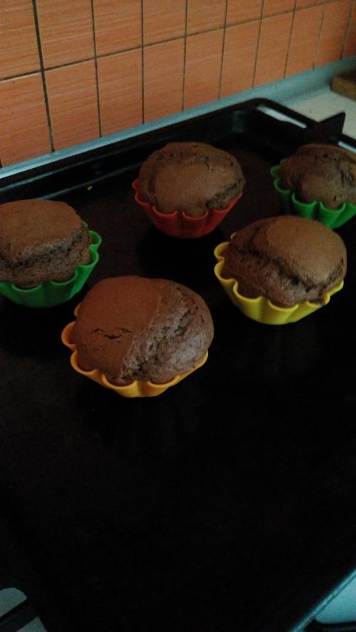 Шоколадні кекси