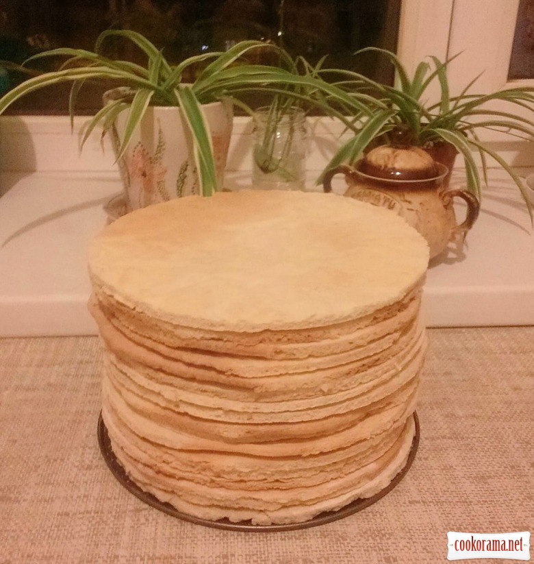 Торт «Лебідь» (коржі тривалого зберігання)