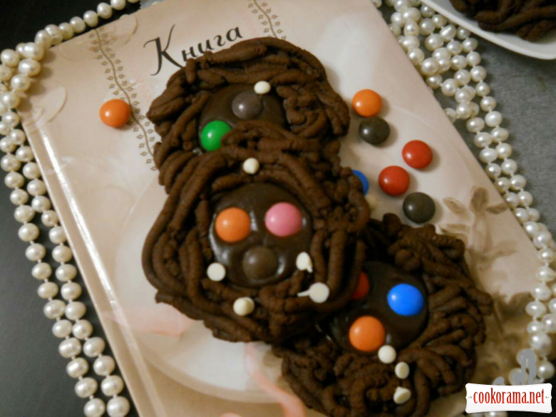 Шоколадне печиво з M&M's