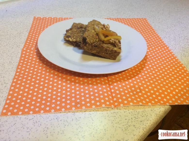 Гарбузовий пиріг (пісний)