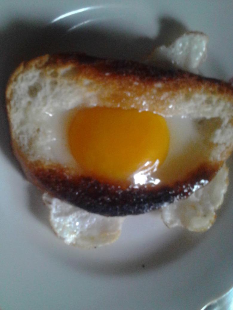 Яєшня у батоні
