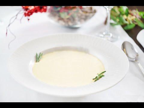 Суп-пюре з кабачків з куркою