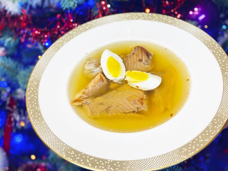 Холодець з риби без желатину