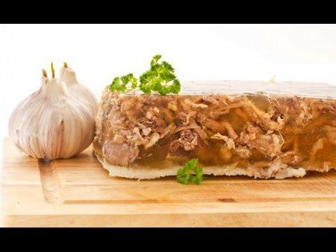 Домашній Холодець з яловичини і курки