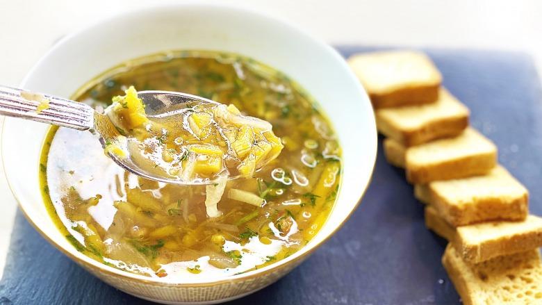 Пісний Суп з Гарбузом та сочевицею за 25 хвилин