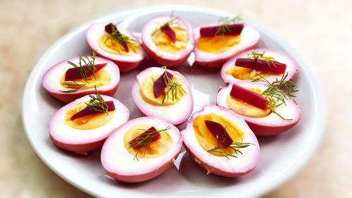 Мариновані Яйця на Великдень