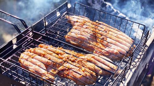 Курча табака - Рецепт смачної смаженої курки