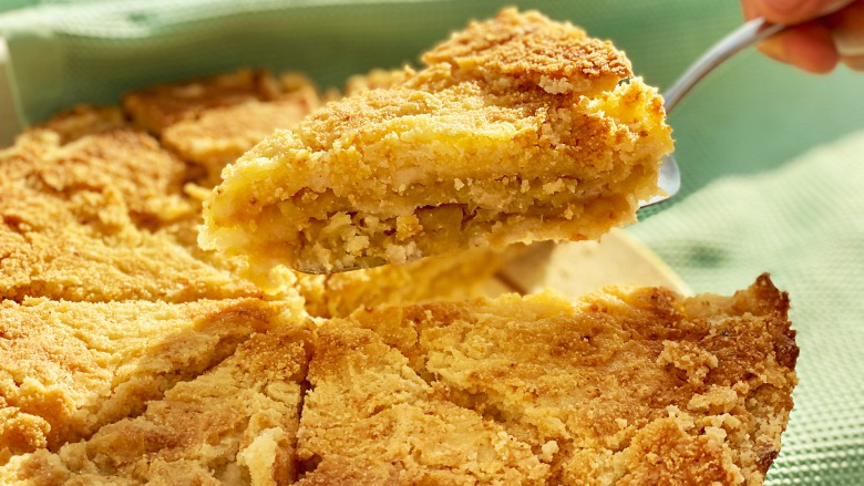 Найпростіший насипний яблучниий пиріг без яєць - Райська смакота, домашня випічка!