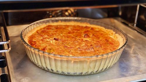 Пісочне тісто для пирогів, яке виходить у всіх! Кіш Лорен з куркою та овочами