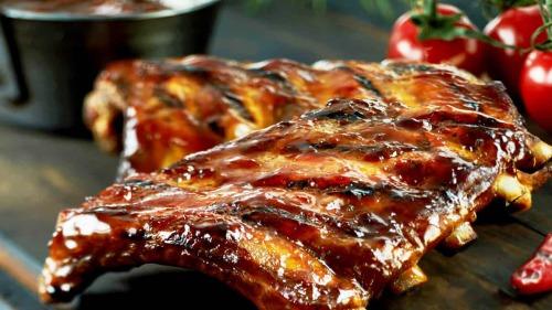 Ось яке м'ясо потрібно готувати на святковий стіл - Свинячі реберця в глазурі - і шашлик не потрібен