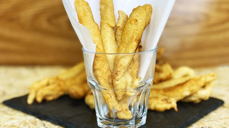 Золотисті Курячі Пальчики за 10 хвилин - Соковите куряче філе в клярі на святковий стіл
