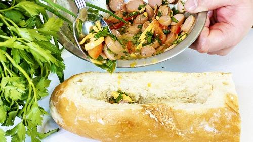Ульотні гарячі бутерброди! Готуємо швидкий сніданок і ситі весь день