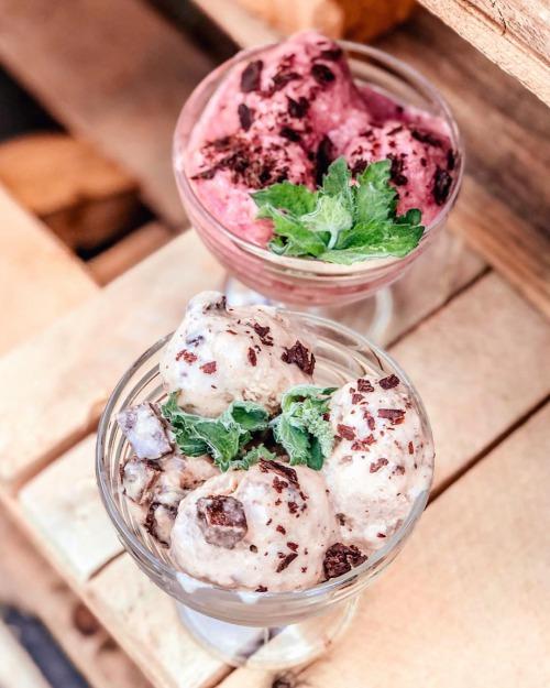 Кокосово-шоколадне морозиво  (без цукру)