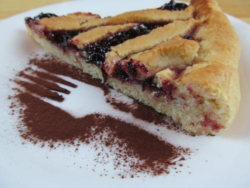 Постный пирог с вареньем / jam cake