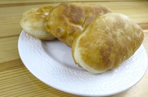 Жареные пирожки с картошкой (постные)
