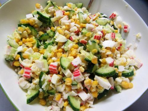 Крабовий салат на Новий рік 2019