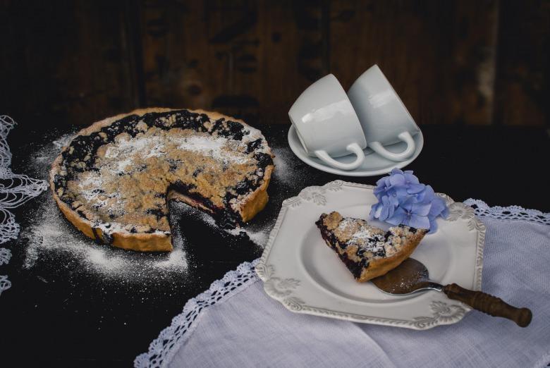 Чорничний тарт