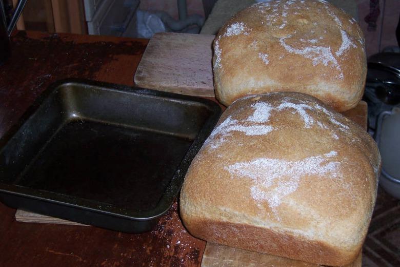 Напівформовий хліб з цільнозернової твердої пшениці