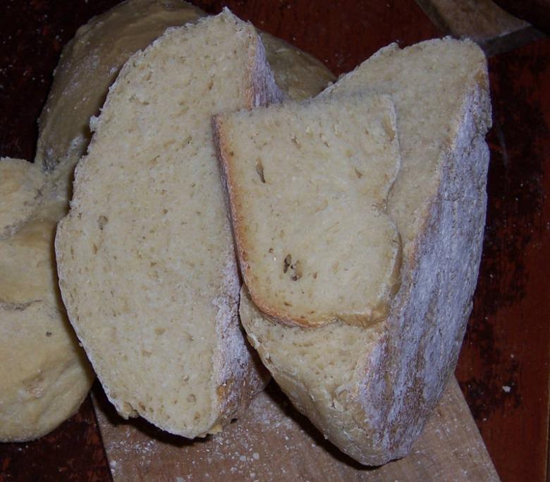 Паляниця - подовий хліб з ярої пшениці цільнозерновий (або напівформовий)