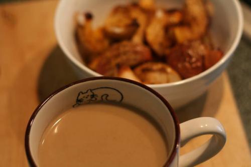 Яблочно-кофейное утро