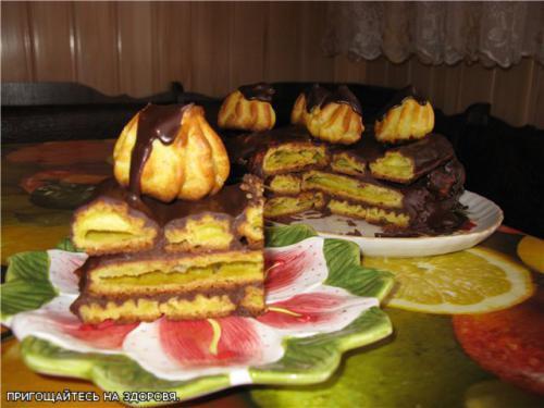 """Торт """"Дамські пальчики"""""""