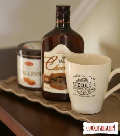 Карамельно-шоколадная миниатюра