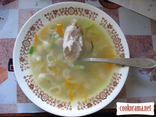 Chicken broth «Delicate»