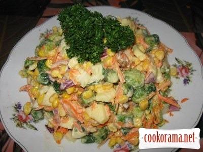 Овочевий салат Гулівера