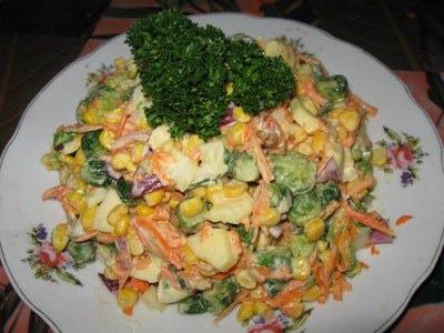 Овощной салат Гуливера