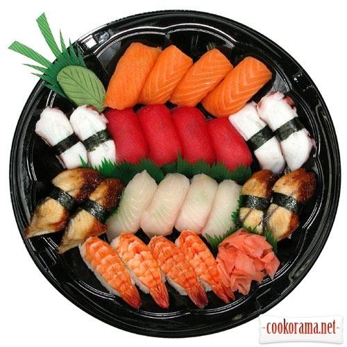 Деликатесы японской кухни