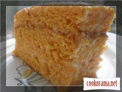Гарбузово-ванільний пиріг