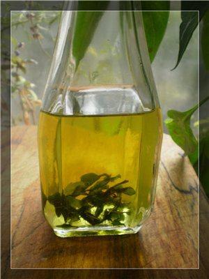 Ароматное масло с базиликом