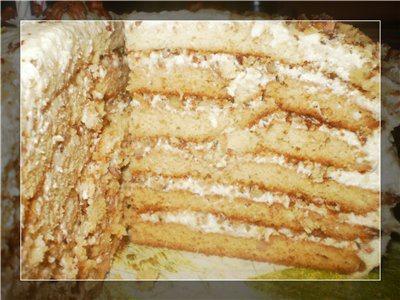 "Торт ""Кокетка Лариса"""