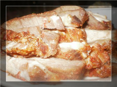 Аппетитная свинина